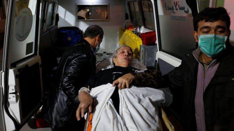 Dozens dead in Afghan bombing