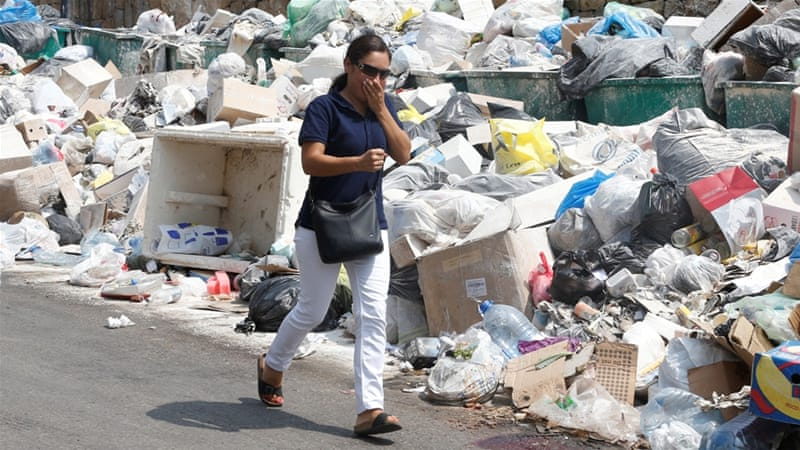 Beirut: Birds drawn by rubbish pose 'danger' to flights