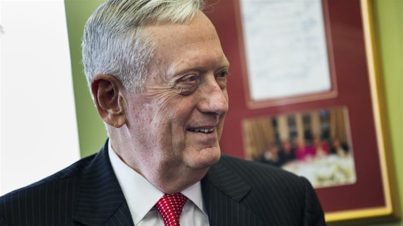 Congress had to pass special legislation to allow Mattis to serve as defense secretary [EPA]