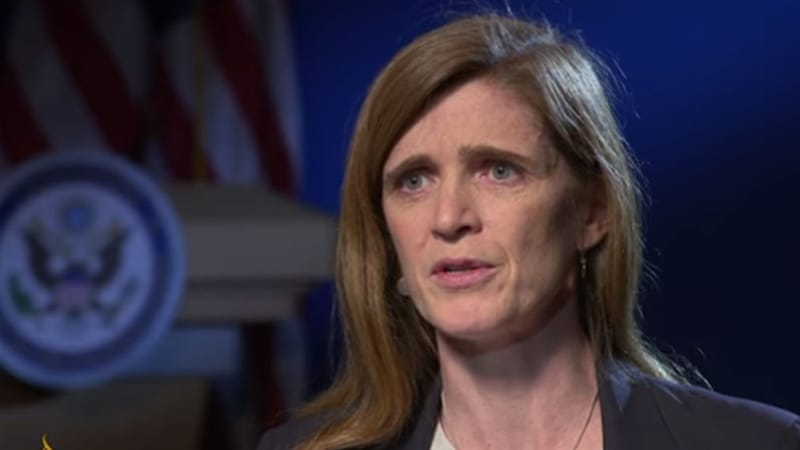 Samantha Power warns: 'I would not trust Russia'