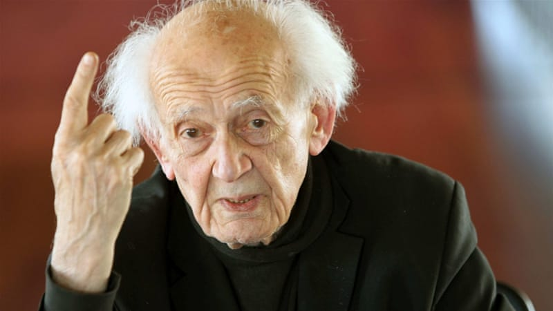Polish sociologist Zygmunt Bauman died at the age of 91 [EPA]