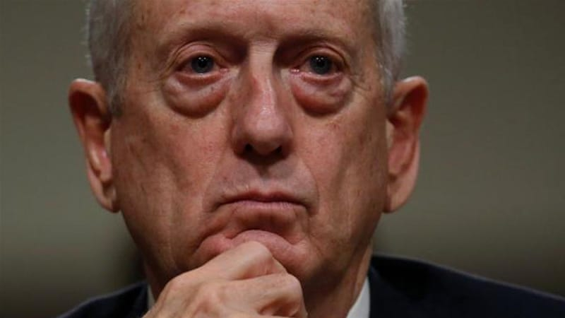 Mattis testifies before a Senate armed services committee [Jonathan Ernst/Reuters]