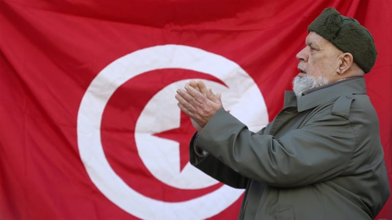 Protests mark Tunisian revolution's sixth anniversary