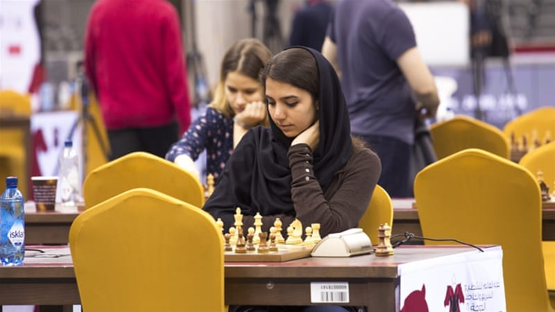 Q&A: Iranian chess player Sara Khadem