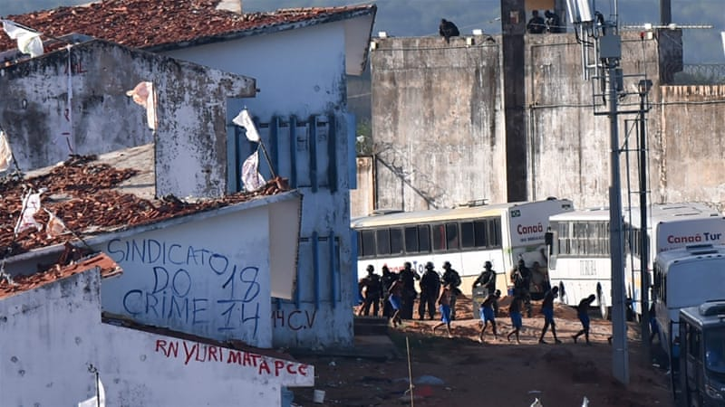 Brazil sees new uprising at penitentiary where 26 killed over weekend