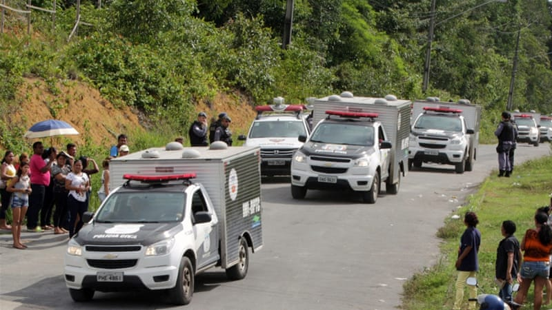 Search for fugitives after deadly jail riot in Amazonas
