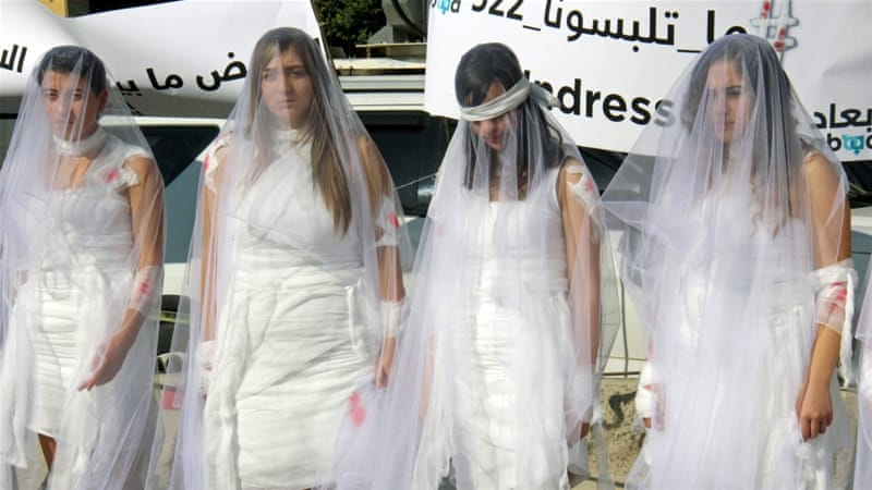 Lebanon rape law challenged