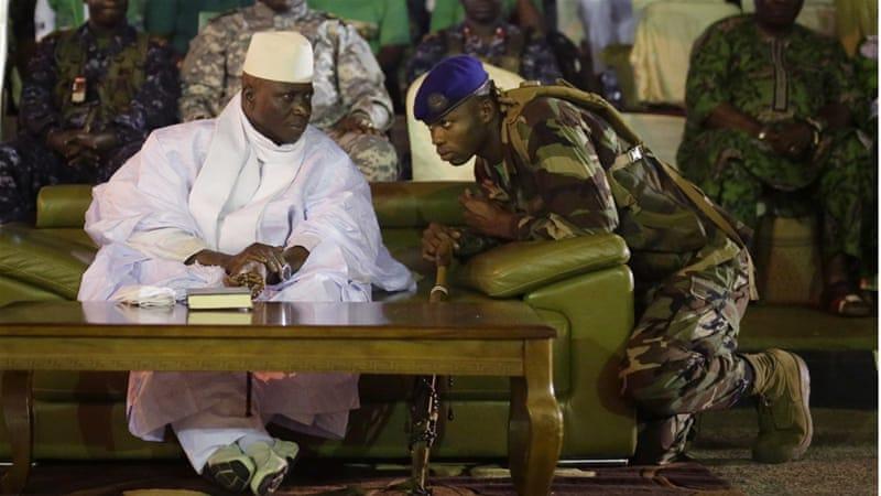 Afbeeldingsresultaat voor Rais Yahya Jammeh