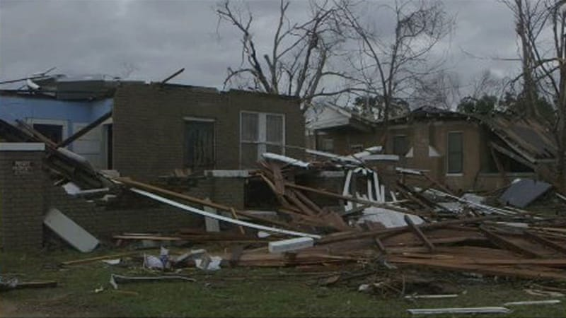 Injuries Reported After Tornado Hits Hattiesburg, Mississippi