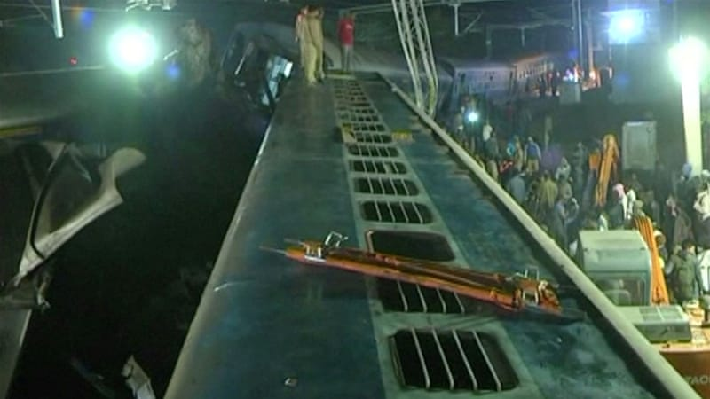 India Rail Disaster Kills 39, Officials Fear Toll May Rise