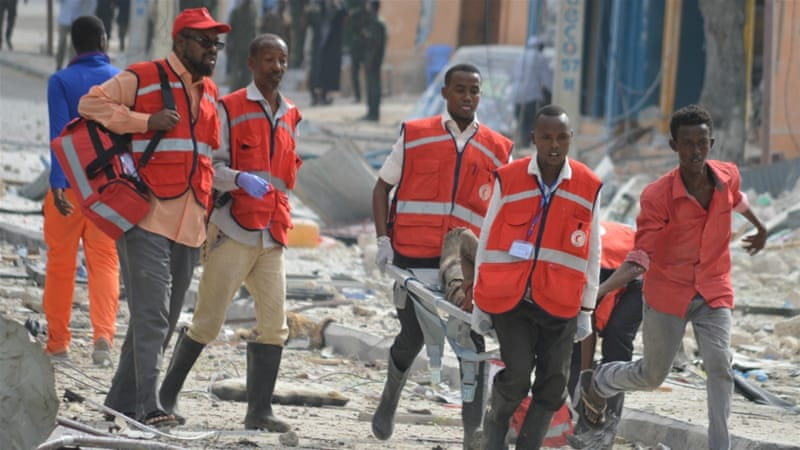 Somalia: Al-Shabab Claims Bombing of Mogadishu Hotel