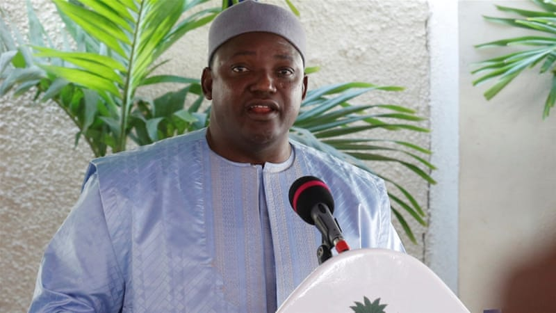 Gambia: Barrow gets a warm welcome