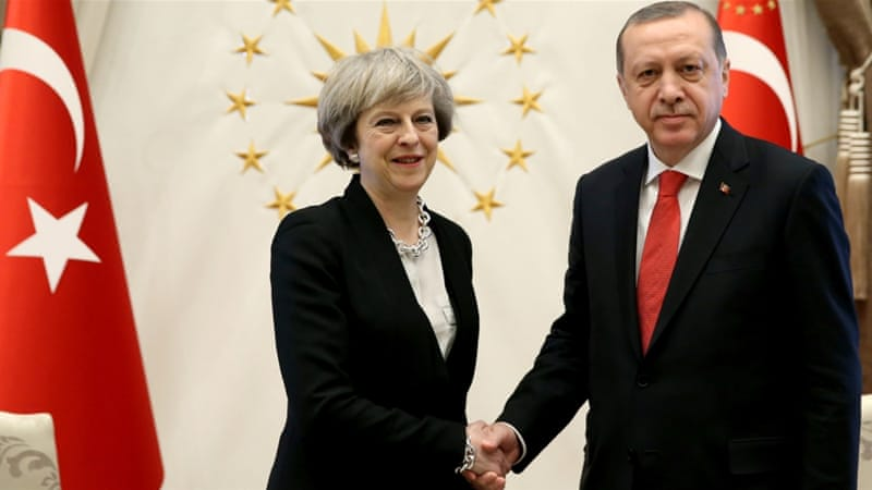 Turkey, UK agree on 'vital' new strategic partnership