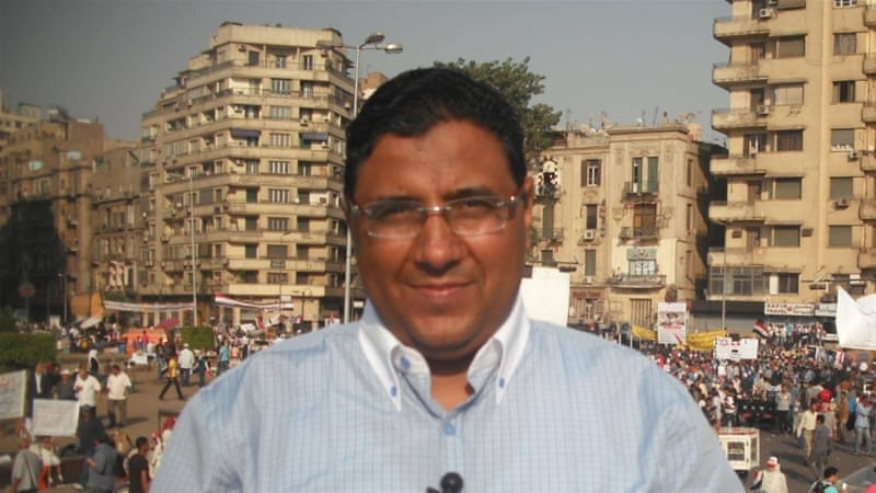 "Al Jazeera journalist Mahmoud Hussein has been jailed in Cairo since December 2016 for allegedly ""broadcasting false news and receiving foreign funds to defame state institutions"" [Al Jazeera]"