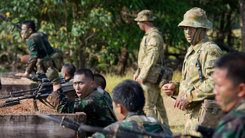 Indonesian military officials said military cooperation with Australia was suspended indefinitely [Reuters]