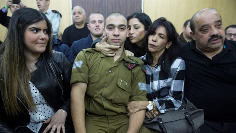 Israeli soldier sentenced to 18 months for murder of wounded Palestinian