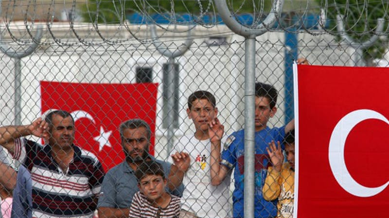 Turkey hosts more than three million refugees, mostly from Syria [AP]