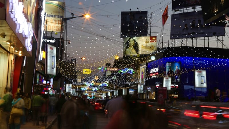 Mass sexual harassment was reported on New Year's Eve in Bengaluru, India [EPA]