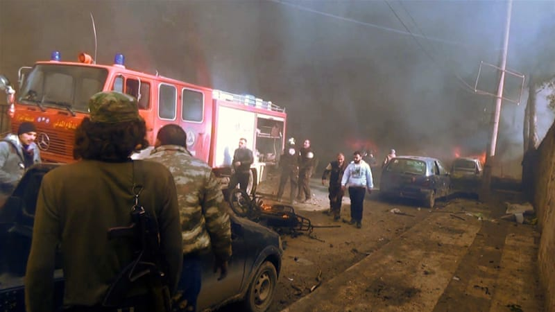 At Least 19 Killed in Syrian Explosion