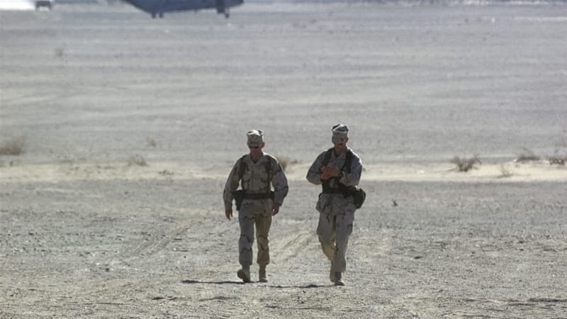 US Marines will train and advise Afghan forces battling Taliban fighters in Helmand [EPA]