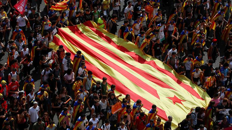 Over 460 people hurt in Catalonia vote melee