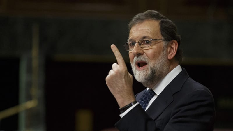 Mariano Rajoy has given Catalonia five days to clarify its position on independence [Pablo Blazquez Dominguez/Getty Images]