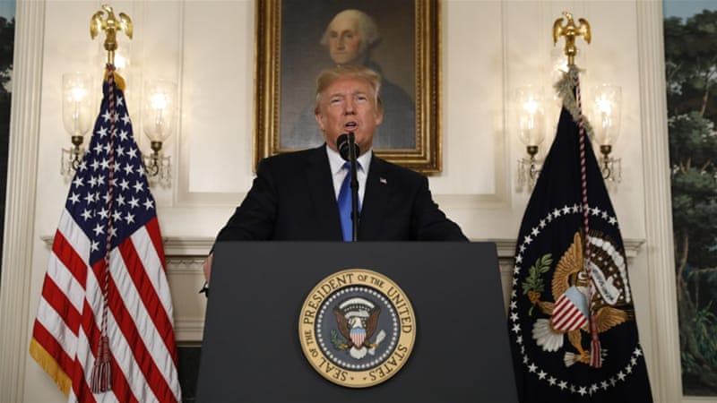 Iran nuclear deal: Donald Trump 'decertifies' 2015 pact | Iran ...
