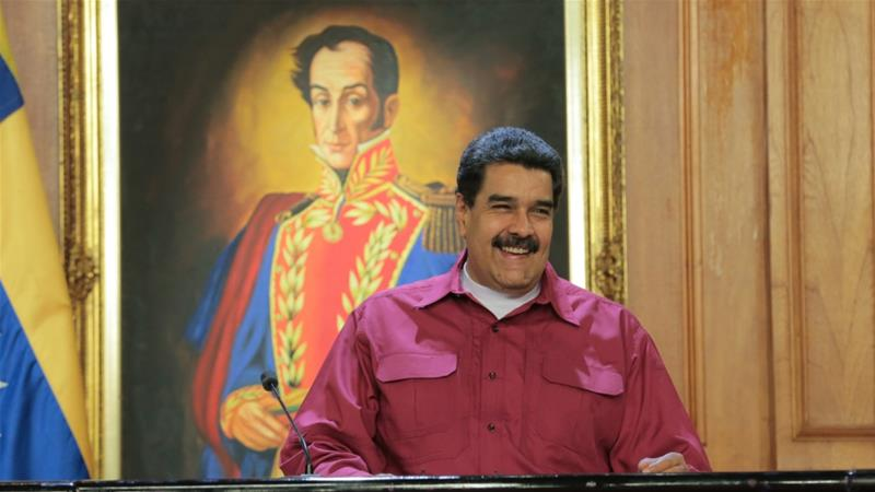 Maduro says he's ready to stand for re-election