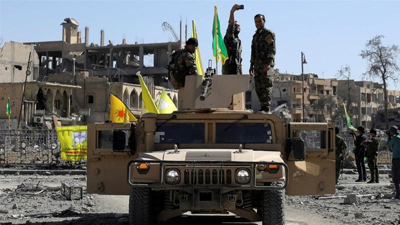 SDF captures Syria's Raqqa city from ISIL