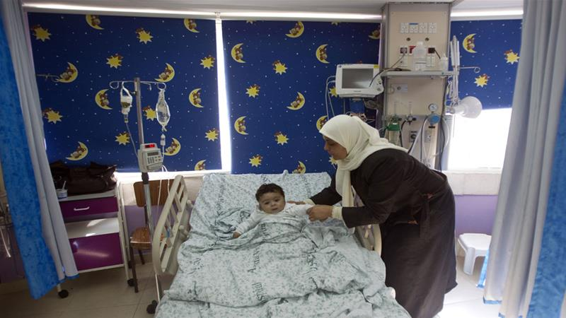 Cancer clinic for Palestinians running out of funds