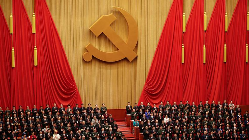 Congress of the Communist Party of China [Damir Sagolj/Reuters]