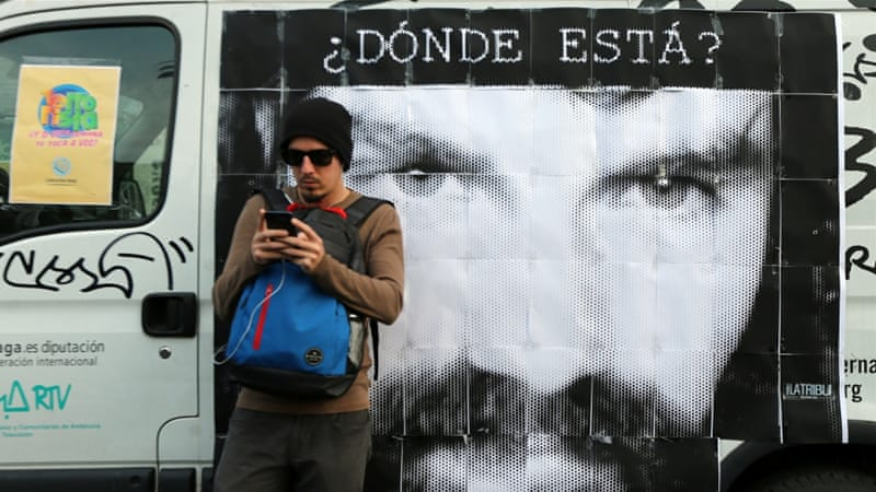 Argentina finds body thought to be Santiago Maldonado