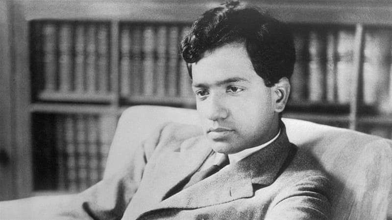 Professor Subrahmanyan Chandrasekhar at the University of Chicago (Getty Images)