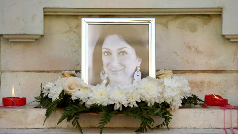 Caruana Galizia was a well-known investigative journalist in Malta [M Mirabelli/AFP-Getty Images]