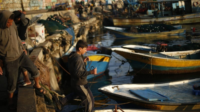 Gaza's 4,000 fishermen risk being shot and arrested by Israeli forces while at sea [File: Reuters]