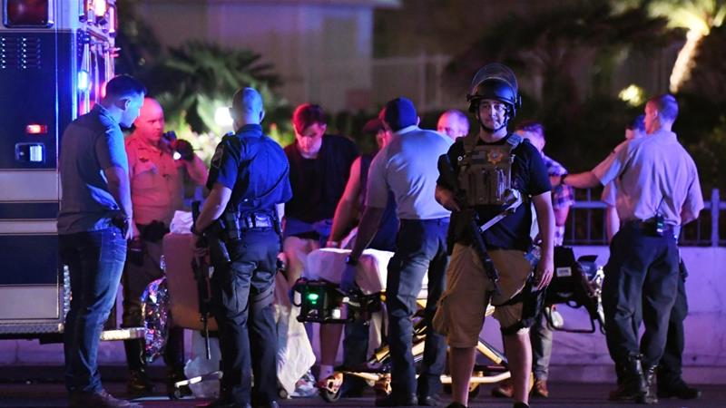 Las Vegas shooting: Gunman fired for 9 to 11 minutes, police say