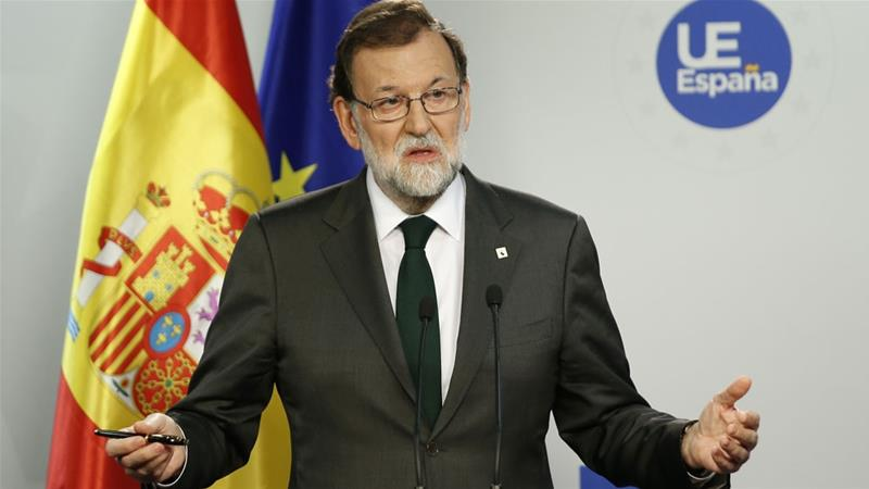 Spain To Suspend Catalonia's Leaders, Call Elections