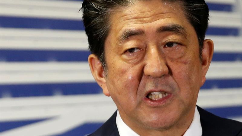 Will Abe change Japan's pacifist constitution?