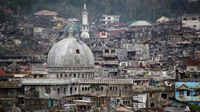 Gaining ground: The battle for Marawi