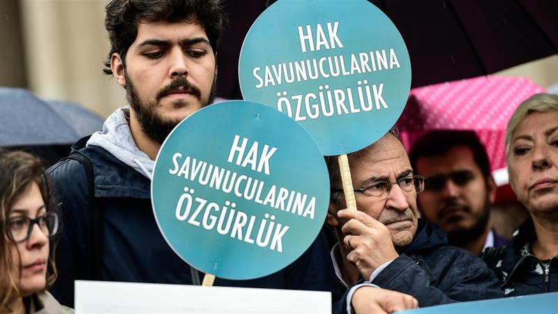 Human rights activists go on trial in Turkey
