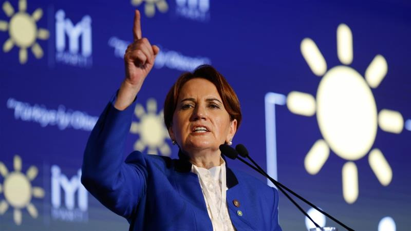 Aksener announced the formation of the party in October 2017 [File: Mustafa Kirazli/Getty Images]