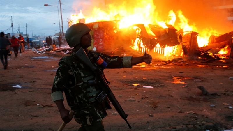 Image result for Violence continues in Kenya
