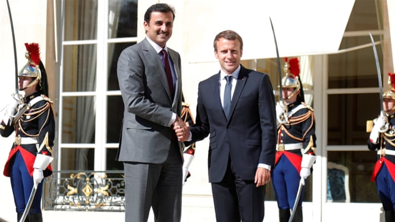 Qatar, France ink cooperation deals despite ongoing Gulf crisis