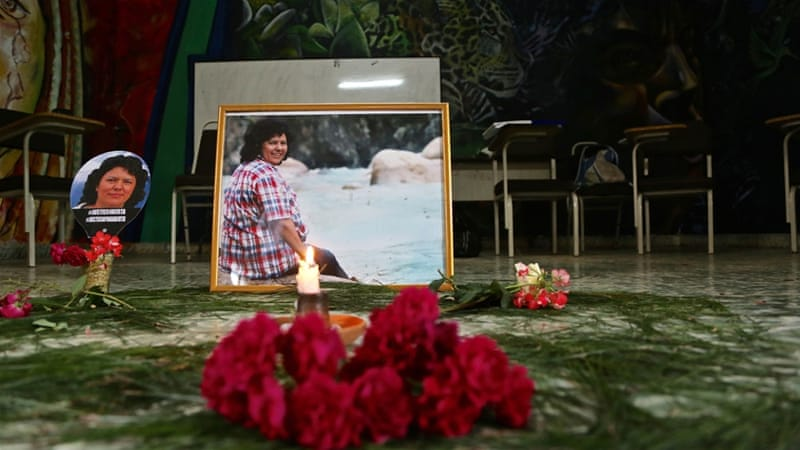 Murder of Berta Caceres part of calculated plot: report