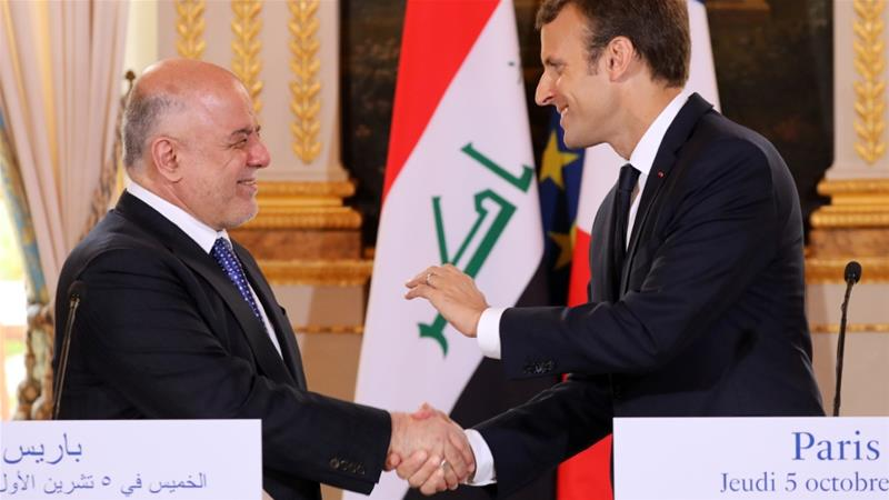 France's Macron says he'll help mediate between Kurds and Iraq after referendum
