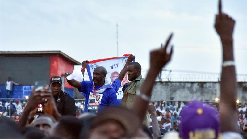 Liberians Vote for New President As Johnson Sirleaf Steps Down