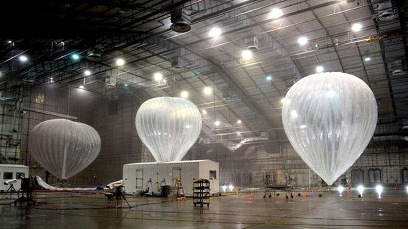 Project Loon balloons, from Google's Alphabet, to aid Puerto Rico