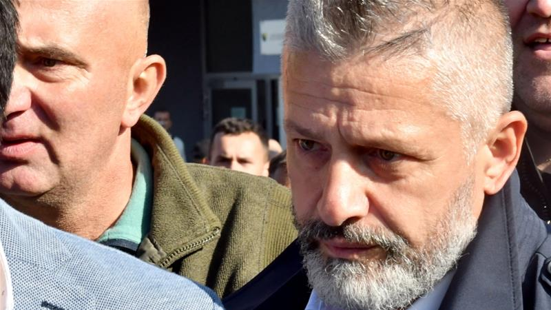 Srebrenica's Muslim defender cleared of crimes, Serbs protest