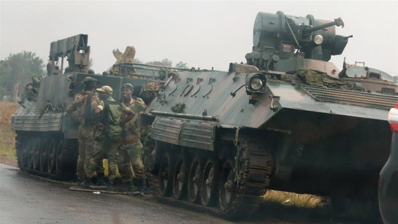 The military says Mugabe and his family are 'safe and sound' [Philimon Bulawayo/Reuters]