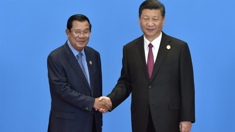 In January, Hun Sen made a four-day official visit to China and announced that Beijing had agreed to provide nearly $600m in grant aid [Francois Lenoir/Reuters]